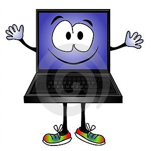 funny-cartoon-computer-smiling-thumb2776079